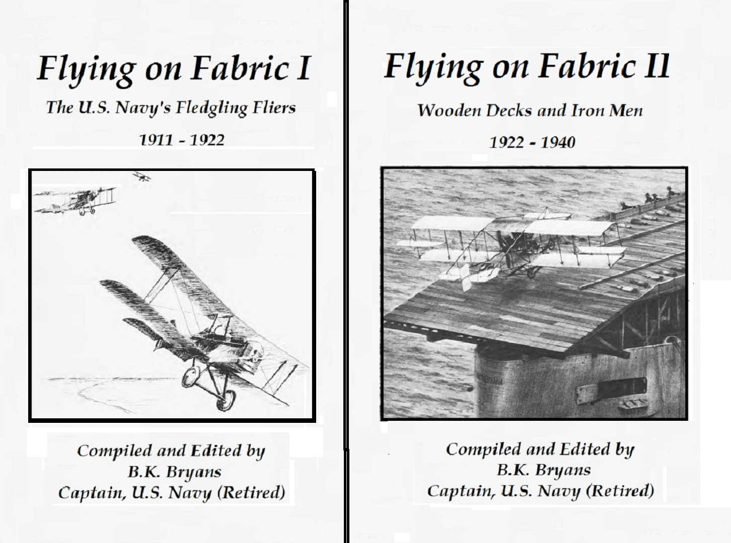 Flying on Fabric, Volume I and II
