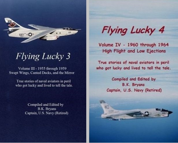 Flying Lucky, Volume 3 and 4