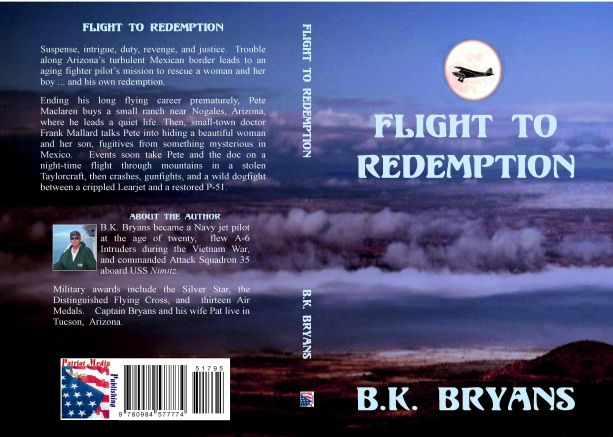 Flight to Redemption by B.K. Bryans